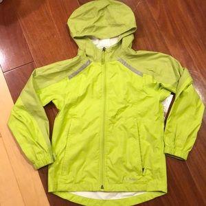 Kids LL Bean raincoat